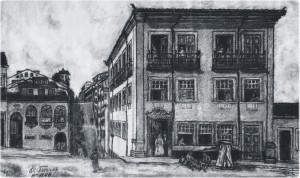 Ladeira da Praça, où la rebellion semble avoir commencé (illustration par Octavio Torres)