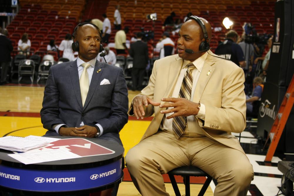 Kenny Smith & Charles Barkley