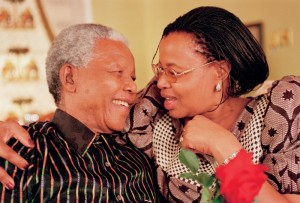 Mandela et Graça Machel