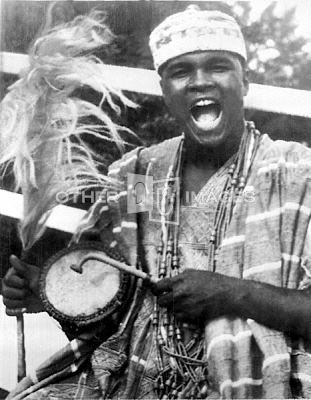 Muhammad Ali au Nigéria en 1964