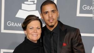 J. Cole et sa mère Kay