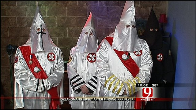 Membres du Ku Klux Klan en Oklahoma