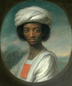 Un portrait de Diallo récemment redécouvert par William Hoare