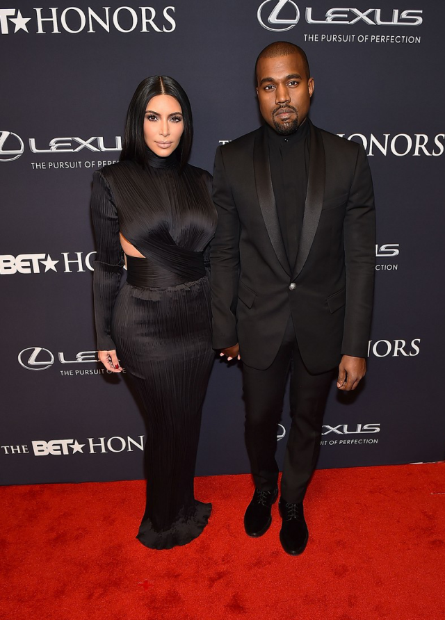 8-Kanye-West-and-Kim-Kardashians-BET-Honors-Black-Balmain-Suit-and-Custom-Gown