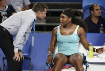 VIDÉO : La demande insolite de Serena Williams en plein match