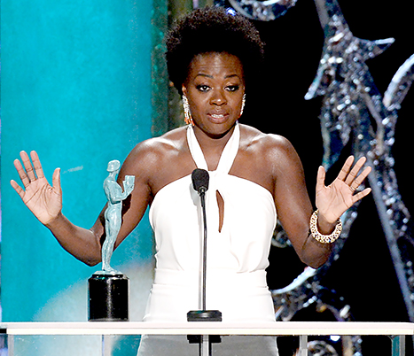 SAG AWARDS : Deux actrices afro-américaines récompensées