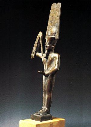 Le dieu égyptien Min