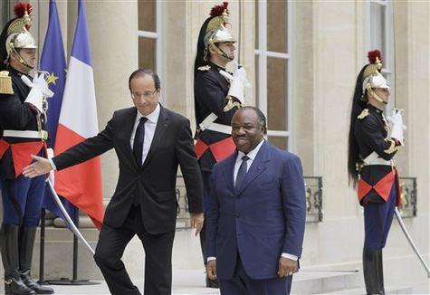 françois-hollande-president-français-ali-bongo-president-gabonais