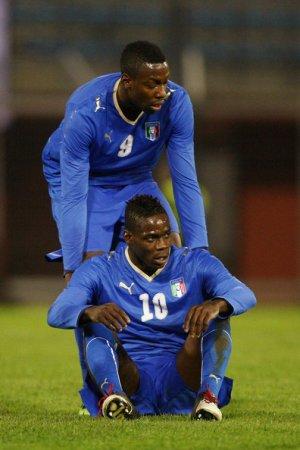 Okaka et Balotelli