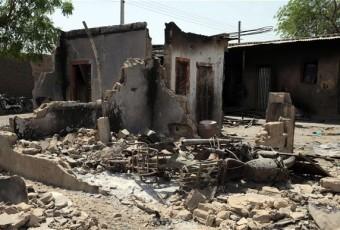 16 VILLES RASEES A L'EST DU NIGERIA