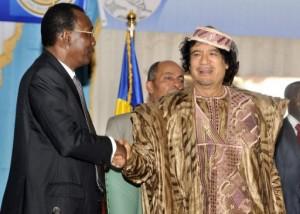 Déby et Kadhafi