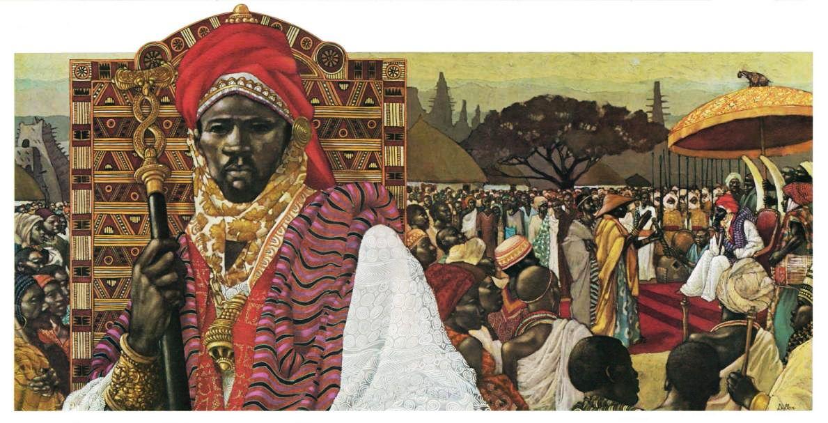 L'empire de Songhaï, un des plus vastes états de l'histoire africaine