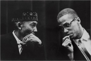 Elijah Muhammad et Malcolm X