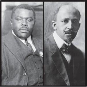 Marcus Garvey & W.E.B. DuBois
