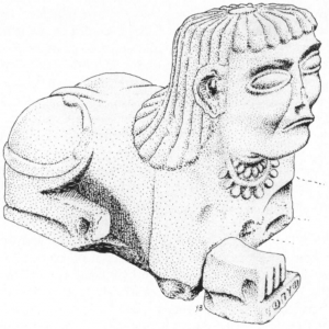 Sphinx d'Addi Grameten, Erythrée