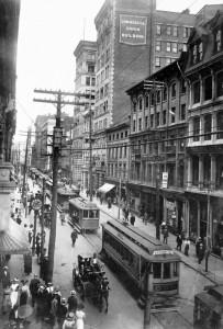 Le quartier du Vieux-Montréal, 1910