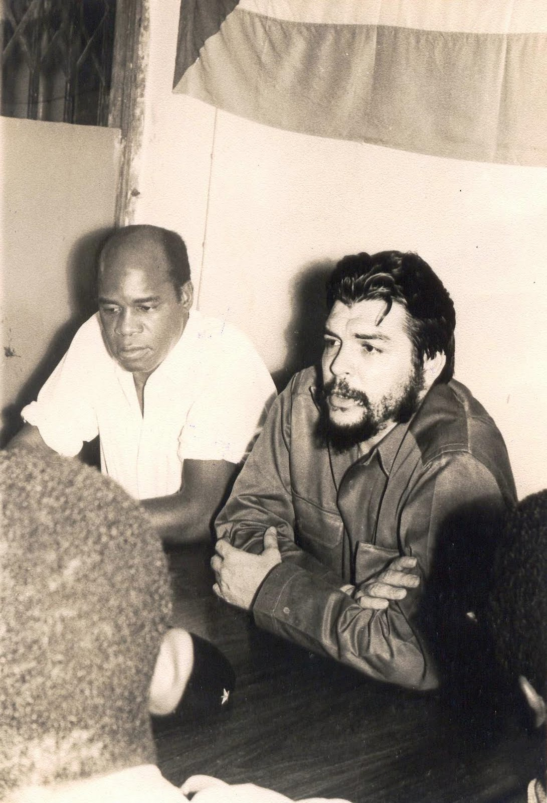 Edouardo Mondlane et Che Guevarra