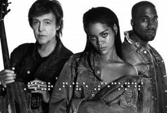 VIDEO : Le nouveau clip de Rihanna avec Kanye west et Paul McCartney