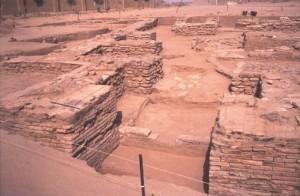 Site de Gao-Ancien, peut-être le plus vieux palais d'Afrique de l'Ouest médiévale, 10ème siècle de notre ère