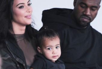 Scandale : la fille de Kanye West et Kim Kardashian porte un gilet pare-balles !
