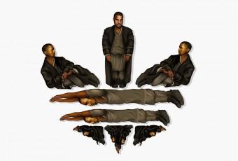 Kanye West x ADIDAS : une collection très près du corps