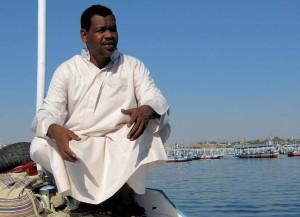 Un Nubien en Egypte