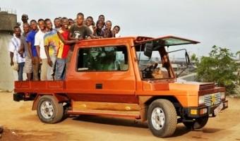La Turtle, première voiture 100% 'récup' fabriquée en Afrique