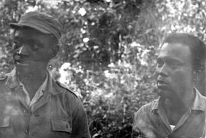 """Francisco Mendes : (ici avec Luis Cabral) : Cabral avait la confiance de tout le monde, pas comme un patron, mais comme un camarade qui dirigeait la lutte et la faisait progresser. Il a toujours tenu à s'intéresser aux autres personnellement et à les aider. Il ne se limitait pas au travail politique, il voulait être une source de soutien pour les autres""""."""