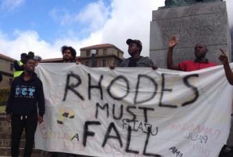 Afrique du Sud :  des étudiants demandent le retrait de la statue d'un colon dans une université
