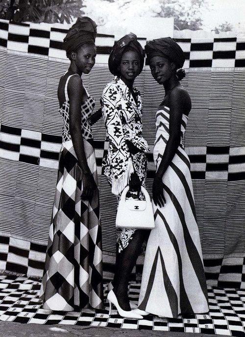 Seydou Kéita pour Harper's Bazaar (1998)