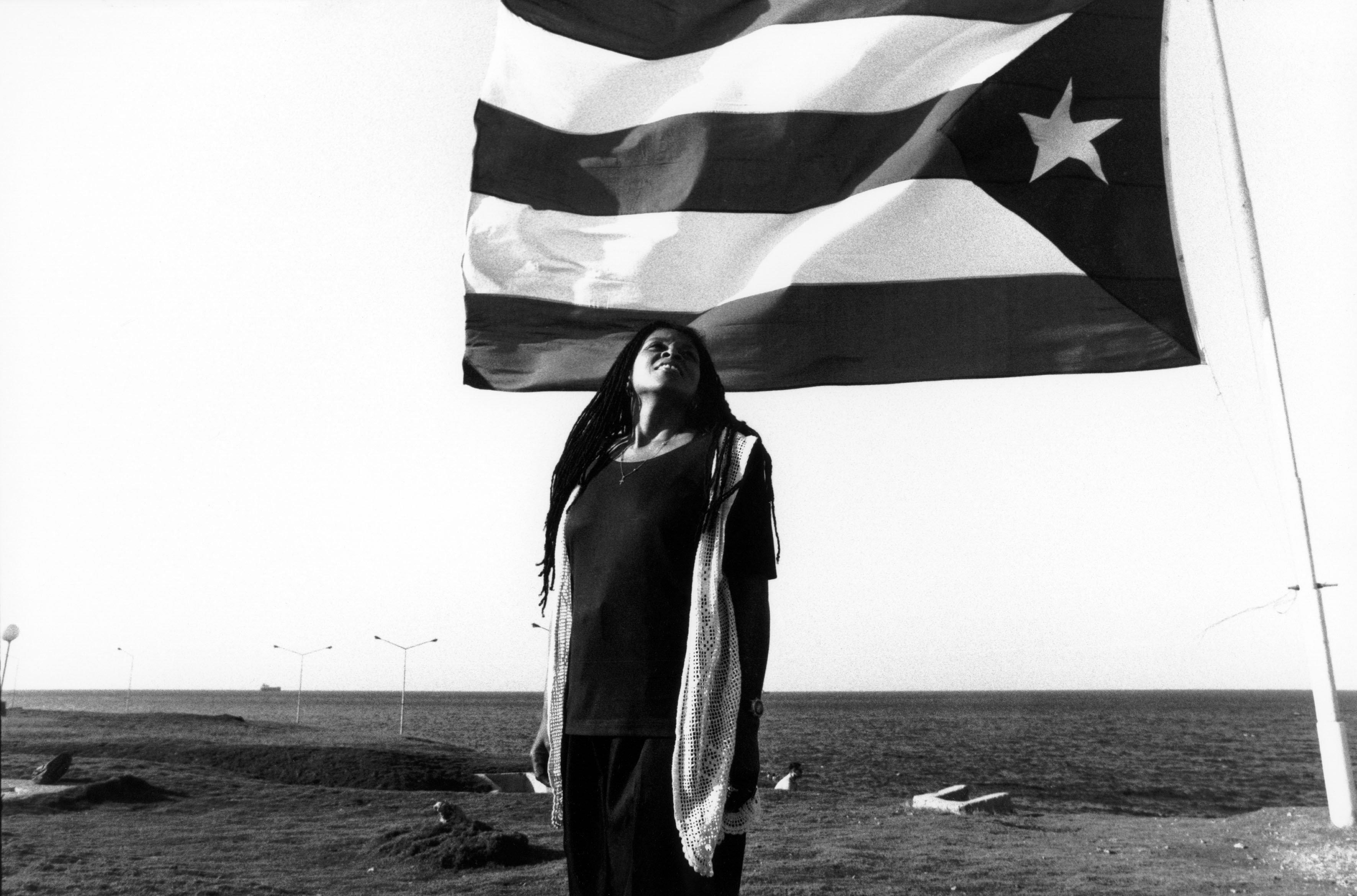 Assata Shakur à Cuba en 1998