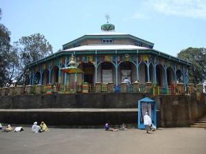 L'église d'Entoto Maryam, construite par Taytu Betul