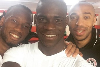 Football – Charité : Drogba, Balotelli et Henry s'illustrent