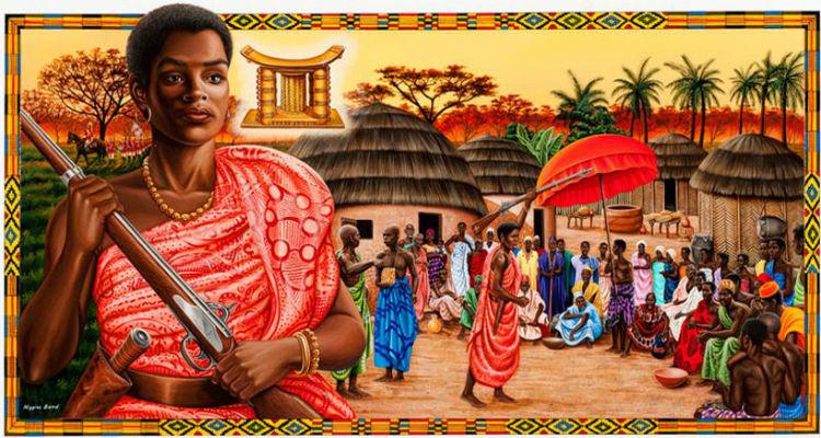 Yaa Asantewaa, une reine africaine contre la colonisation britannique