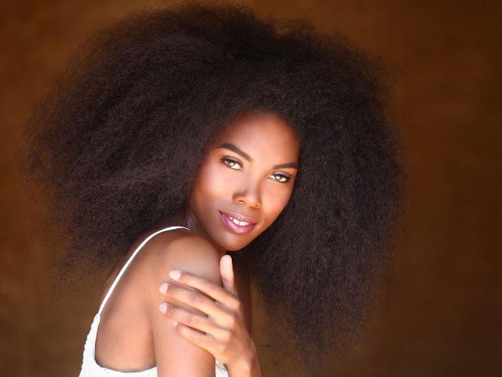 Cheveux naturels afro 2015