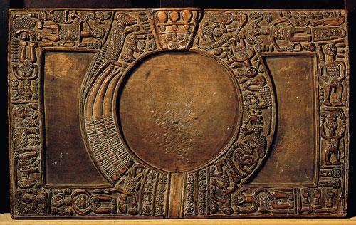 Plateau de divination ifa adja-tado, 17ème siècle