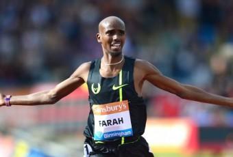 Mo Farah : trop Somalien pour être recordman d'Europe?