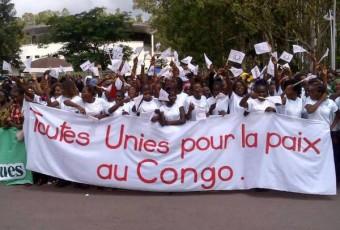Présidentielle au Congo : Des femmes manifestent contre la modification de la Constitution