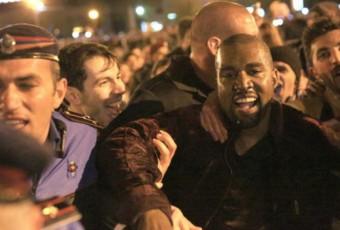 Kanye West : un concert en Arménie, un baptême à Jérusalem et un séjour à Paris