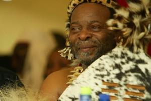 Le roi zoulou Goodwill Zwelithini