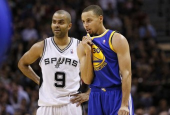NBA : Tony Parker et Stephen Curry à l'honneur