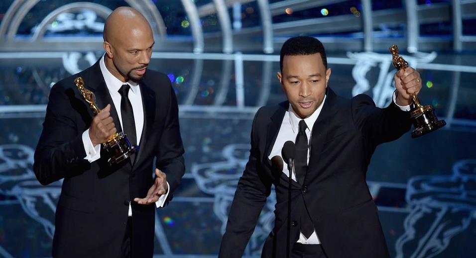 """John Legend : """"Selma est d'actualité parce que la lutte pour la justice a lieu en ce moment. (...) """"Il y a plus d'hommes noirs sous contrôle correctionnel qu'il y avait d'hommes noirs esclaves en 1850. """""""