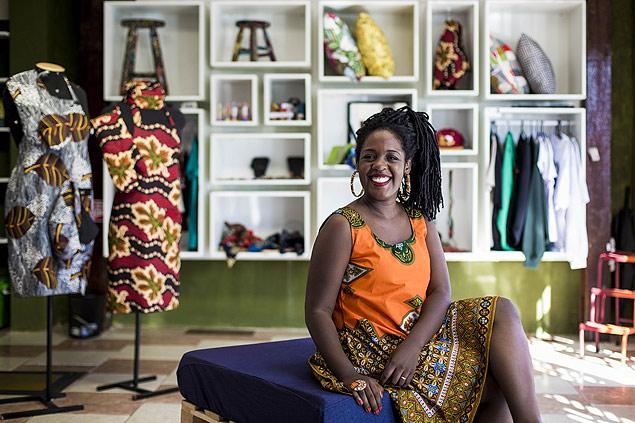 Créatrice d'une boutique de vêtements en collaboration avec l'Afrique, Paula Xongani s'est plainte du racisme institutionnel qui l'empêcherait elle et d'autres porteurs de projets noirs, de trouver des financements