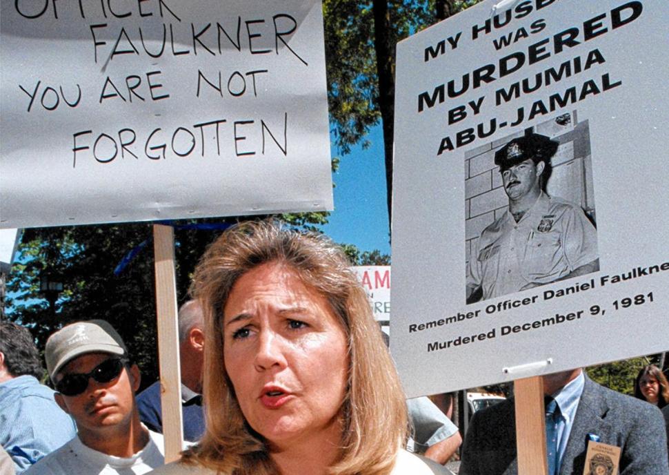 La veuve de Daniel Faulkner