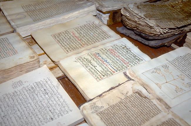 Des manuscrits de Tombouctou