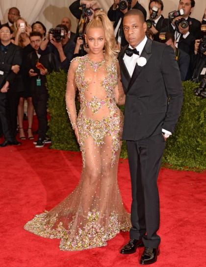 Beyoncé et Jay Z MET GALA 2015