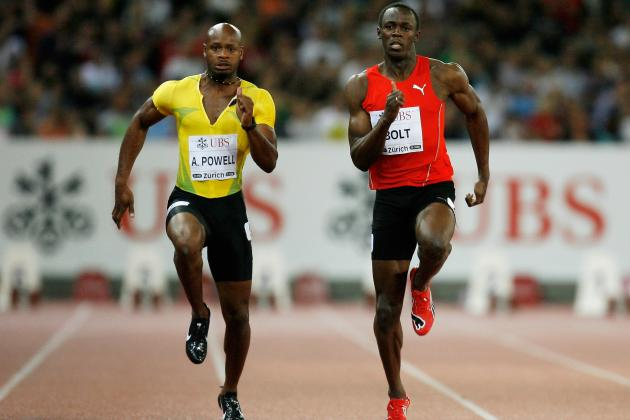 Athlétisme: Usain Bolt et Asafa Powell assurent au meeting d'Ostrava