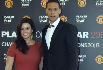 Football:  Rio Ferdinand en deuil