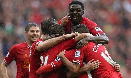 Vidéo (Football): les joueurs de Liverpool fêtent la prolongation de Kolo Touré en chanson