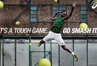 Tennis: Gaël Monfils joue le guerrier avec Asics avant Roland-Garros
